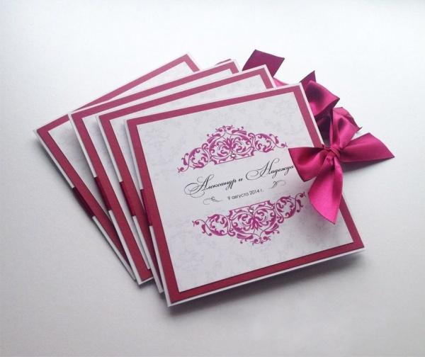 Как сделать свадебные пригласительные онлайн